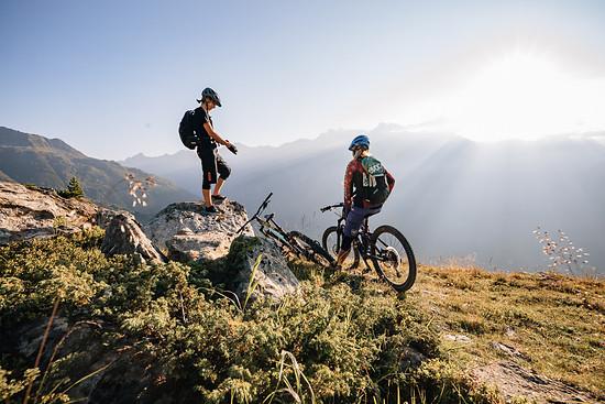 Zu zweit macht Biken noch mehr Spaß