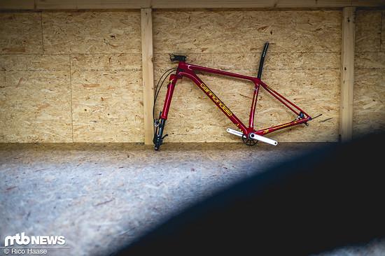 So langsam sehen die Rahmen nach Fahrrädern aus