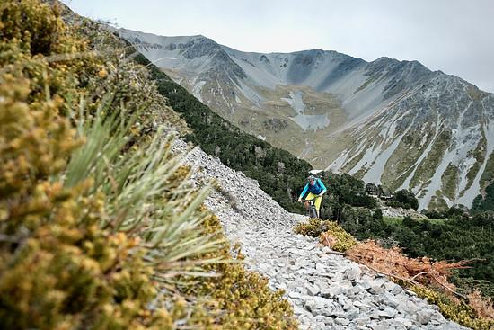 Craigieburn – hinten ist das Skigebiet
