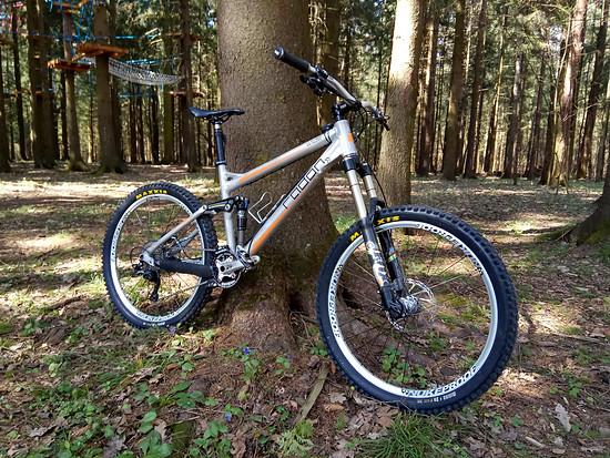 Mein Fahrrad Radon ED 160