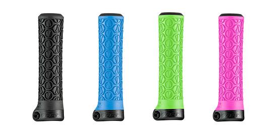 Die neuen Slater Jr-Griffe haben einen Außendurchmesser 25 mm bis 26 mm und sind in vier Farben erhältlich.