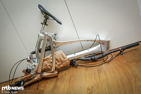 Immer länger werdende Räder können auf Reisen zum Problem werden