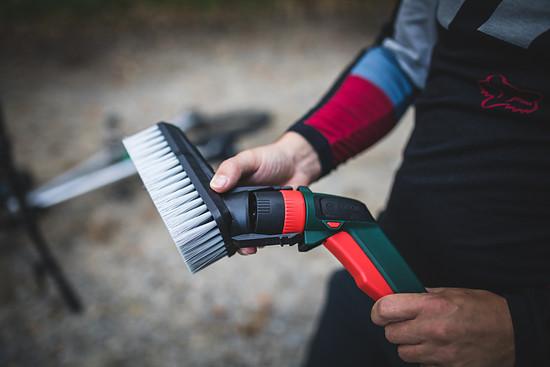 … und die Smart Brush ansetzen – los geht's.