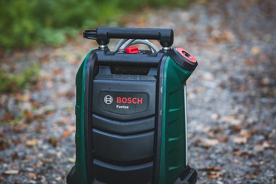Grün, kompakt, kraftvoll: Der Bosch Fontus kommt mit 15 Liter-Tank und großem Akku