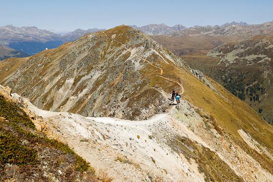 Der Luftkurort Davos hat neben guter Luft und viel Schnee im Winter auch so einiges an Enduro-Trails im Sommer zu bieten!