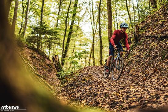 … gerade im Herbst und Winter ist das unkomplizierte Bike spannend