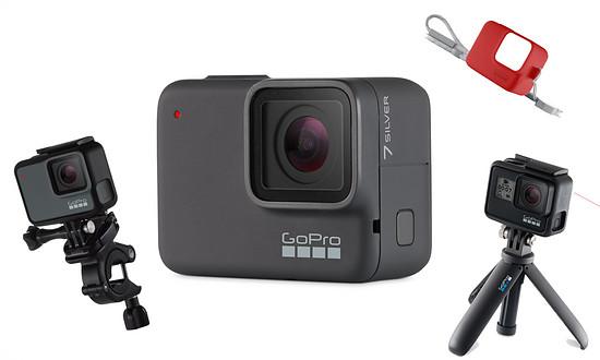 Der zweite Platz erhält eine GoPro HERO7 Silver inklusive Shorty, Lenkerhalterung, Shorty und Hülle