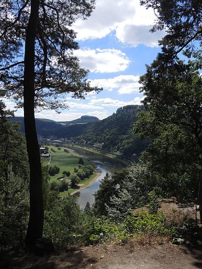 Aussicht auf Königsstein