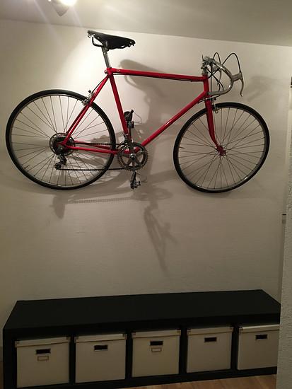 Bike als Wand Deko