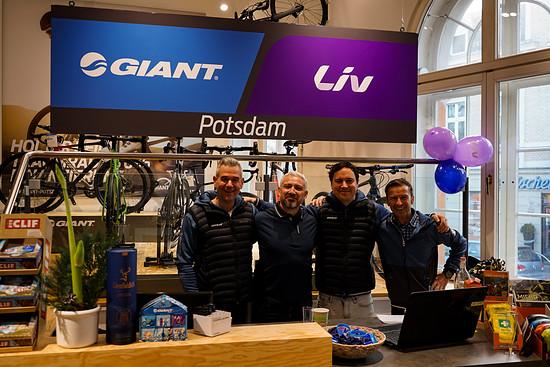 Das Team vom Giant Store Potsdam