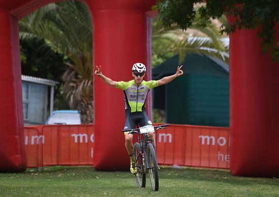 Klare Angelegenheit hingegen bei den Männer: Der Südafrikaner Matthys Beukes siegte souverän