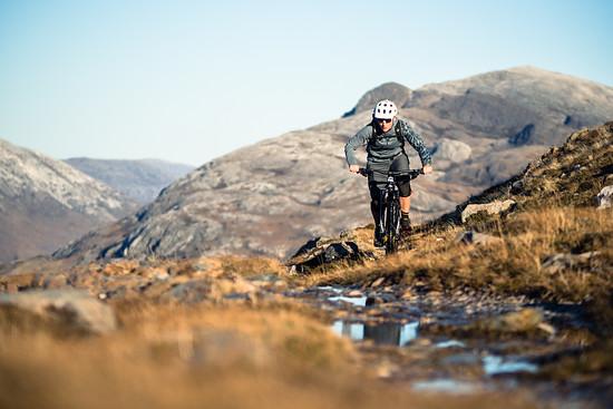 Schottisches Novemberwetter kann auch so aussehen - die Trails sind trotzdem nass.