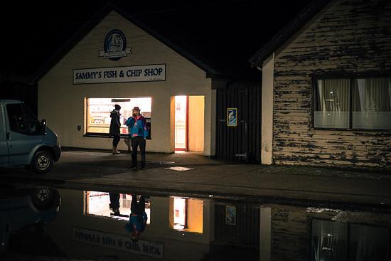 Am frühen Abend erreichen wir per Bus Fort William.