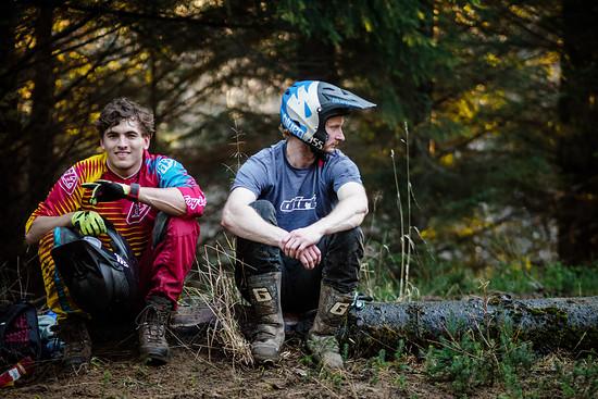 Lachlan Blair und Fergus Lamb