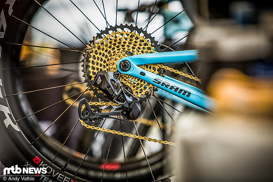 Obwohl sich die SRAM Eagle eTap-Schaltung noch im Prototypen-Stadium befindet, sorgt die elektronische Schaltung bereits für jede Menge Begeisterung in der Mountainbike-Welt.