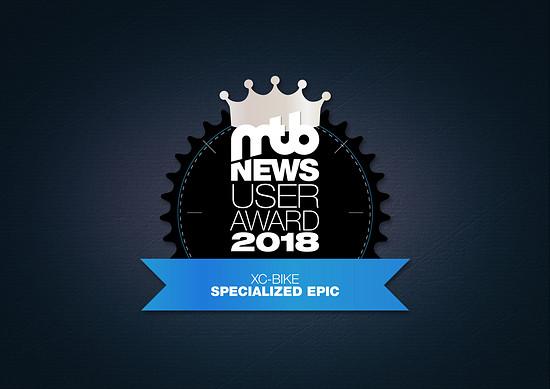 user awards silber XC-Bike