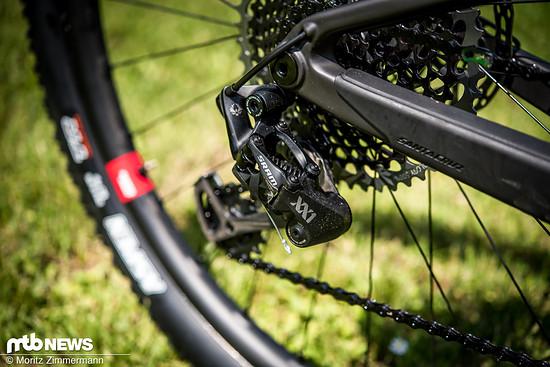 Edler geht es kaum: Die XX1-Schaltgruppe ist die Top-Variante unter den SRAM-Antrieben fürs Mountainbike