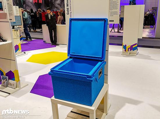 Thermoskanne in groß: Die Qool-Box soll dank Vakuumisolationspaneelen in allen Wänden (Seiten, Boden, Deckel) eine herausragende Leistung erbringen.