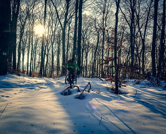 Winterbiken 1