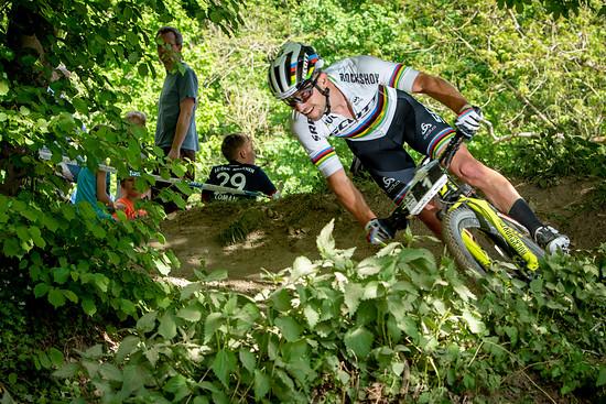 Im letzten Jahr triumphierte niemand geringeres als der Weltmeister Nino Schurter in Heubach