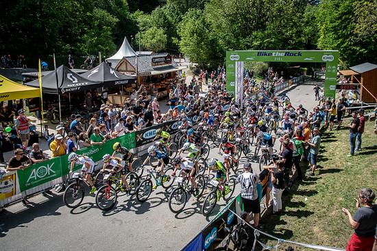 Das BiketheRock-Festival in Heubach gilt in der Szene inzwischen als Klassiker: Ranghafte Namen geben sich in jedem Jahr die Ehre, wenn es rund um den Rosenstein geht