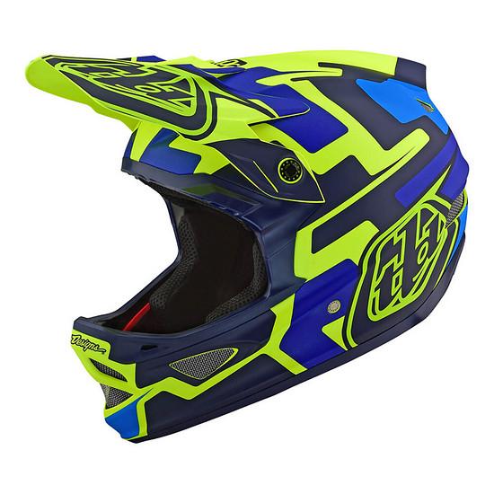 Besonders auffällige Designs finden sich am D3-Integralhelm. Die Carbon-Variante des legendären Downhill-Helms ist jedoch auch in einem dezenten Schwarz erhältlich.