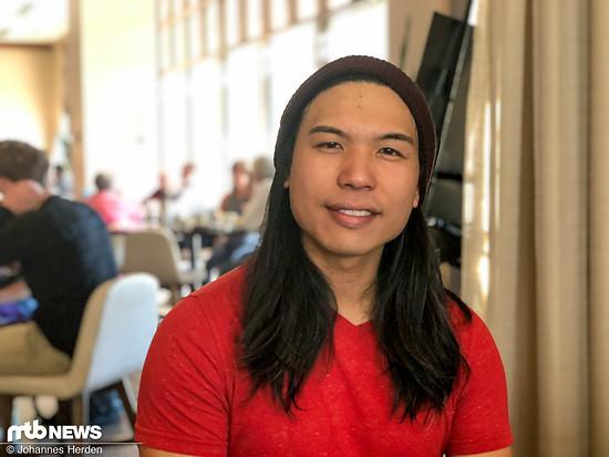 Alex Ho, Electrical and Software Engineering Manager, beantwortete uns einige Fragen am Frühstückstisch