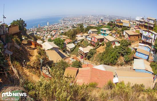Knapp eine Million Menschen lebt in und um Valparaiso