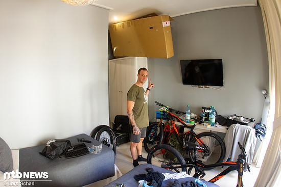 Platz ist auch im kleinsten Hotelzimmer