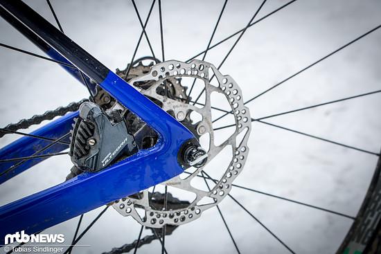 Die Flat Mount-Aufnahme, bei welcher der Bremssattel direkt an den Rahmen geschraubt wird, setzt sich auf dem Rennrad- und Cyclocross-Markt immer weiter durch