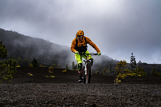 La Palma - Mirador bei Sturm