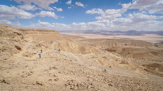 Ausblick über das Arava-Tal
