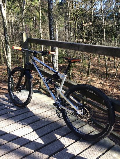 Spontaner Ausflug in den Bikepark