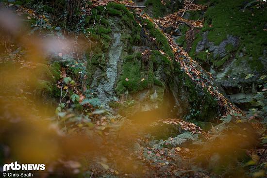 Steilabfahrt