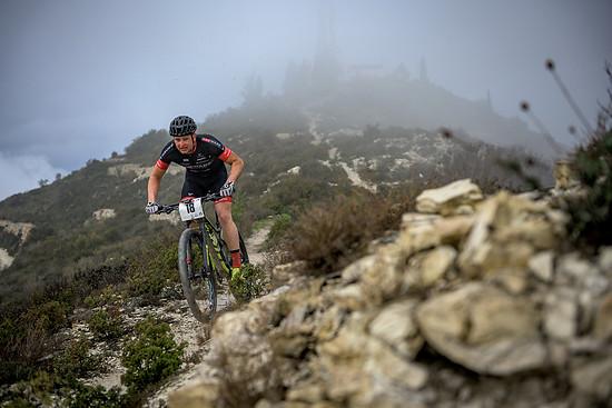 Überraschungserfolg beim Prolog des Afxentia Etappenrennens: Luca Schwarzbauer war auf den ersten 13 Kilometern der Schnellste