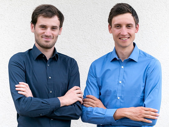 Das Duo Bauer/Stiebjahn mal nicht in Radklamotten