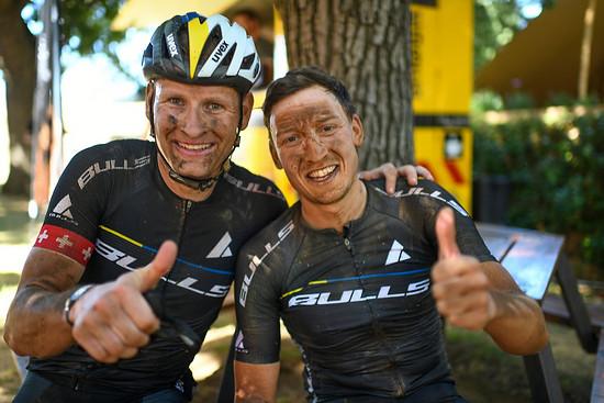 Zusammen mit Urs Huber (links) überzeugte Simon beim Tankwa Trek im Februar. Beim Cape Epic will das Duo auf das Podest!