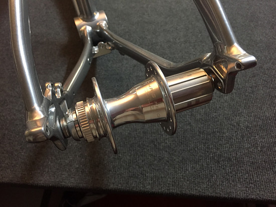 Cannondale Hooligan 2015, Chris King, Chrome... Rear Hub... that should work nicely!
