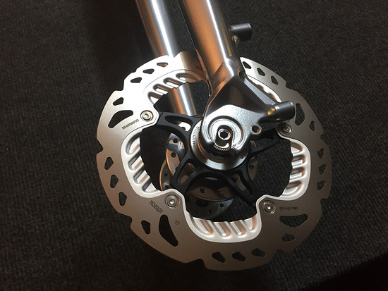 Cannondale Hooligan 2015, Chris King, Chrome... XTR disks for the front!