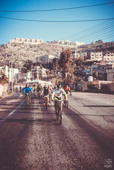 Durch den Vorort von Amman