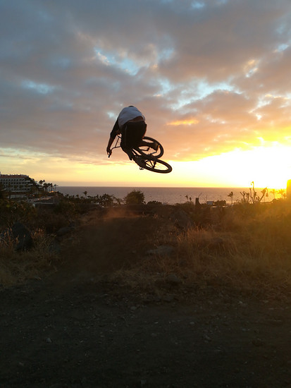 La Palma sun downer