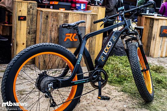 An der Rahmenform dieses Bikes von Vtuvia Electric kamen wir nicht vorbei