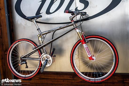 Aus den 90er Jahren entstammt dieses Ibis Bike