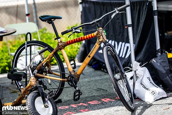 Boomers Bikes aus Ghana bauen Rahmen aus Bambus