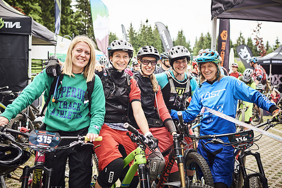 Mountainbiken ist ein Männersport? Nicht bei der TrailTrophy!