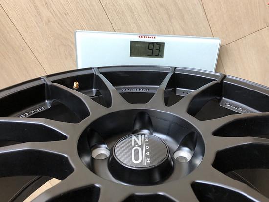 """OZ Ultraleggera HLT 8x19"""" ET45 @9,3kg"""