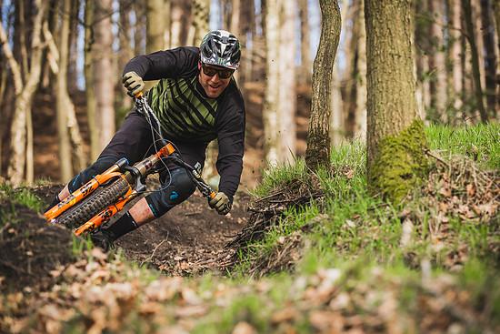 Dieser junge Mann hat in den Wharncliffe das Mountainbiken gelernt