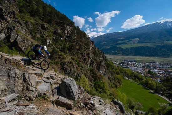 Trailspaß im Vinschgau
