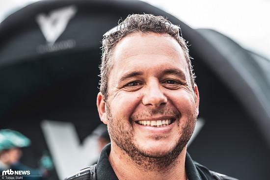 Bester Stimmung: MTB-News.de Chef Thomas lässt hat das Bike-Festival Riva erst im letzten Jahr für sich entdeckt