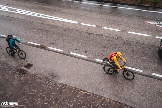 Echte Biker kann das nicht aufhalten ;)